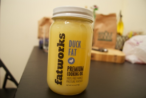 Duck Fat Yum! - Click to go to Fatworks and get some for yourself!
