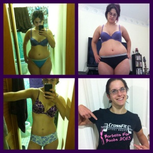 It totally blows my mind to see how far I've come!